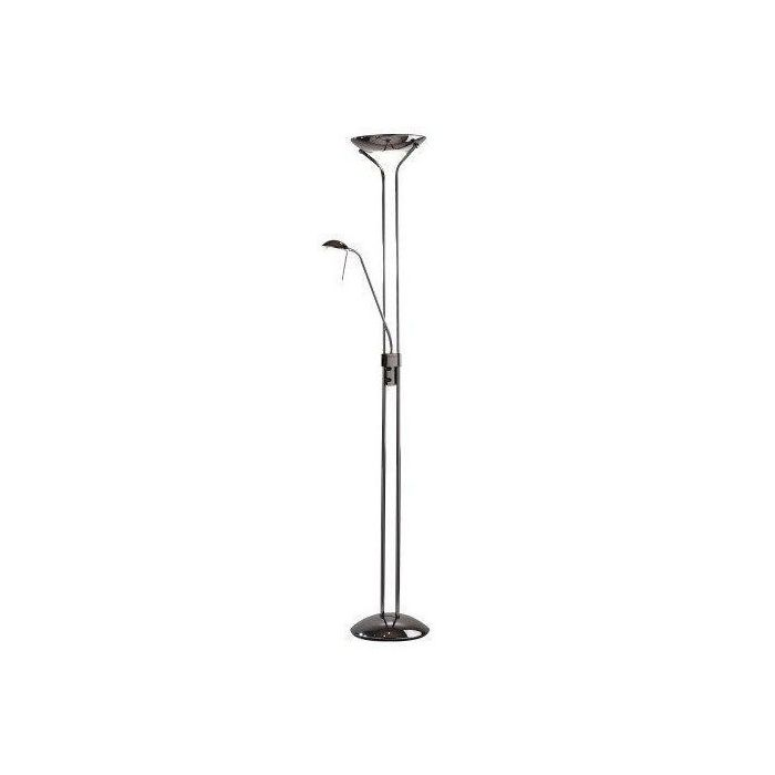 Montana floor lamp uplighter ormrod for Montana uplighter floor lamp black chrome